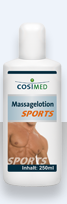 Cosimed lotion de massage professionnelle SPORT 250 ml