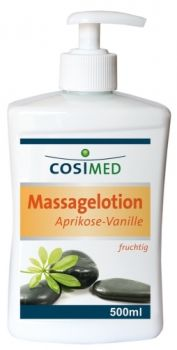 COSIMED Lotion massage professionnelle abricot vanille 500ml