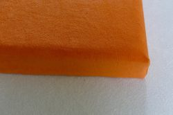 DRAP HOUSSE EPONGE ELAN ORANGE Lot de 10