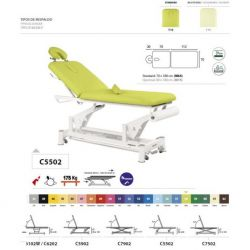 Table de massage électrique ECOPOSTURAL C5502 M64