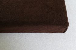 DRAP HOUSSE EPONGE ELAN CHOCOLAT LOT de 10