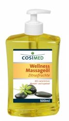 COSIMED huile de massage agrumes 500 ml