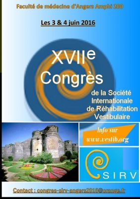 Congrès SIRV Angers 3-4 juin 2016